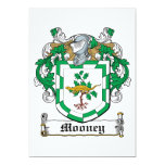 Mooney Family Crest Personalized Announcement