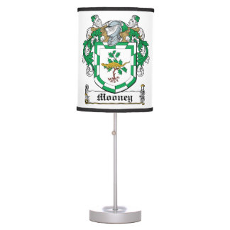Mooney Family Crest Table Lamps