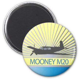 Mooney M20 Aviation 2 Inch Round Magnet