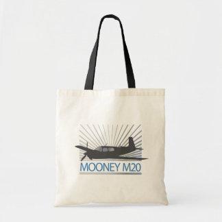 Mooney M20 Aviation Budget Tote Bag