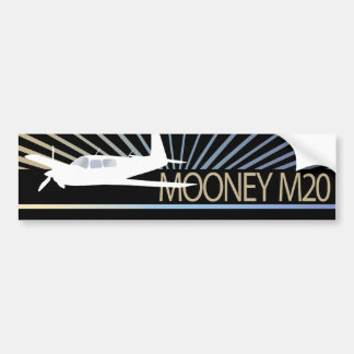Mooney M20 Aviation Bumper Sticker