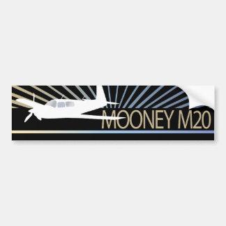 Mooney M20 Aviation Bumper Sticker