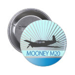 Mooney M20 Aviation Buttons