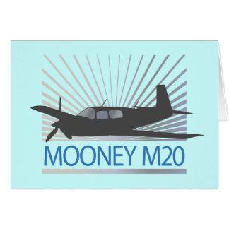 Mooney M20 Aviation Greeting Card