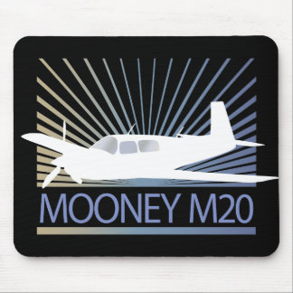 Mooney M20 Aviation Mouse Pad