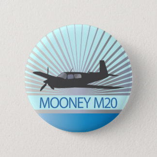 Mooney M20 Aviation Pinback Button