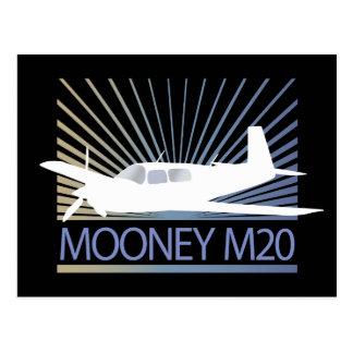 Mooney M20 Aviation Postcard