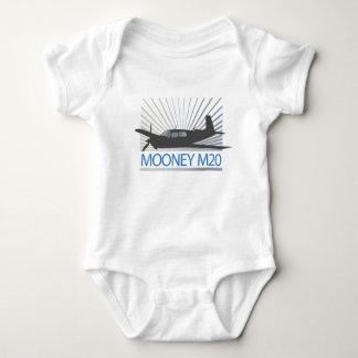Mooney M20 Aviation Infant Creeper