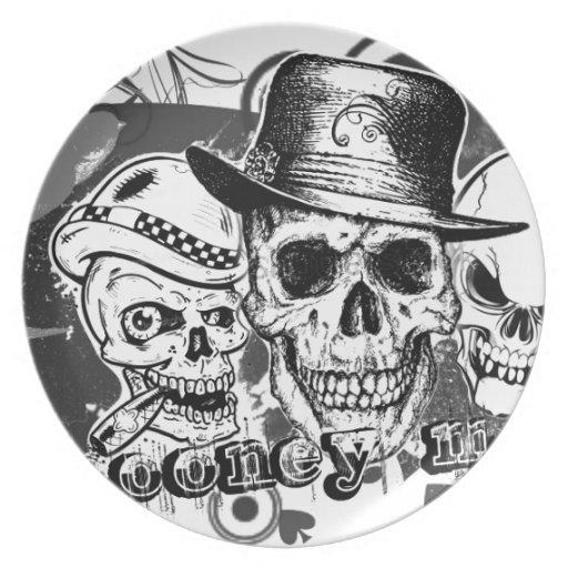 Mooney Mafia Party Plates