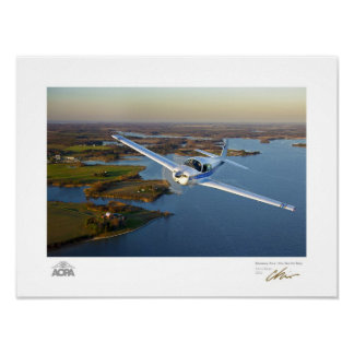 Mooney Over the North Bay Gallery Poster