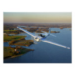 Mooney Over the North Bay Print