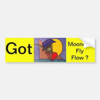Mooneye Fly Flow Bumper Sticker