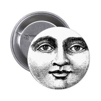 MOONFACE PIN REDONDO 5 CM