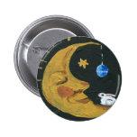 Moonface Pin Redondo De 2 Pulgadas