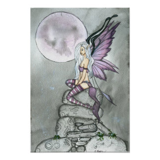 Moonflower Poster