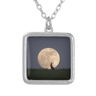 Moongazer.JPG Silver Plated Necklace