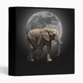 MOONGLOW ELEPHANT 3 RING BINDER