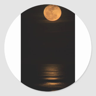 moonglow.jpg classic round sticker
