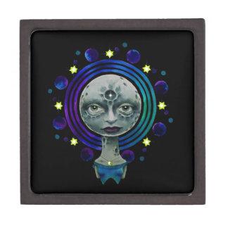 Moonhead Mandala Jewelry Box
