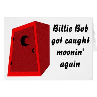 Moonin' Greeting Card