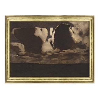 Moonlight, 1887 postcard
