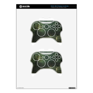 Moonlight After Rain by John Atkinson Grimshaw Xbox 360 Controller Skin