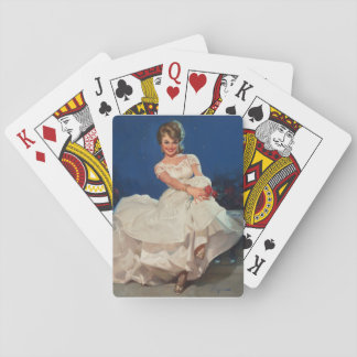 Moonlight and Roses  Pin Up Art Playing Cards
