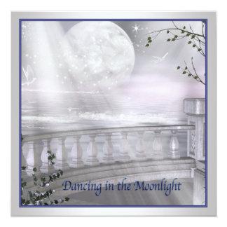 Moonlight Beach Prom Invitatins Card