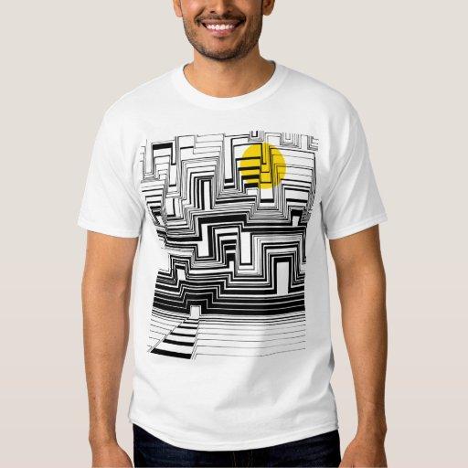 Moonlight City Doodle Art T-Shirt