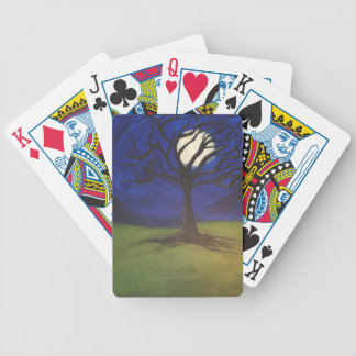 Moonlight Climb Bicycle Playing Cards