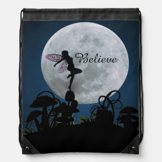 Moonlight dance believe fairy bag backpack