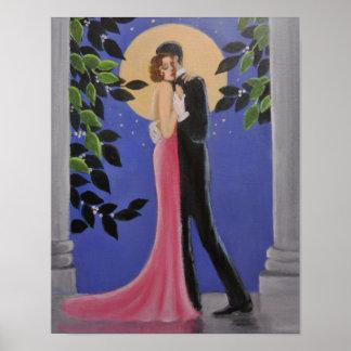 Moonlight dance, Poster