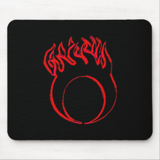 Moonlight Devil Productions Moon Mousepad (Red)