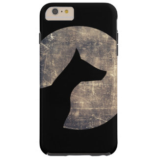 Moonlight dog tough iPhone 6 plus case