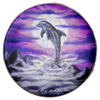 Moonlight Dolphin Chocolate Dipped Oreo