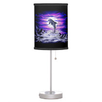 Moonlight Dolphin Table Lamp
