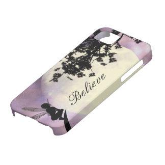 Moonlight fairy believe iPhone 5 case