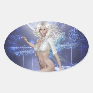 Moonlight Fairy Flying Sticker