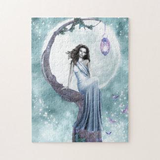 Moonlight Fairy Jigsaw Puzzle