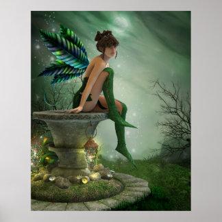 Moonlight Fairy Print