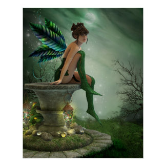 Moonlight Fairy Print