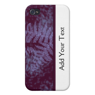 Moonlight Ferns Case For iPhone 4