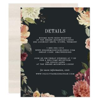Moonlight Garden Guest Information Card
