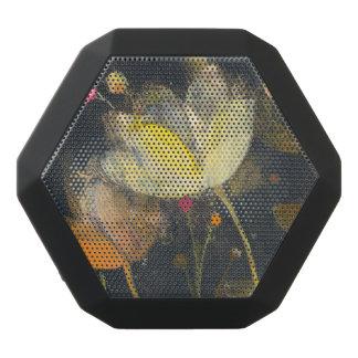 Moonlight Garden on Black Black Bluetooth Speaker