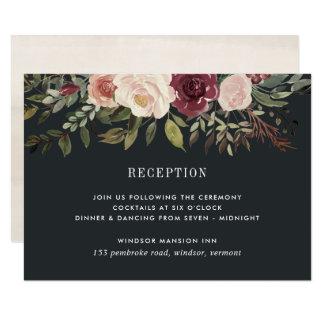 Moonlight Garden Wedding Reception Enclosure Card