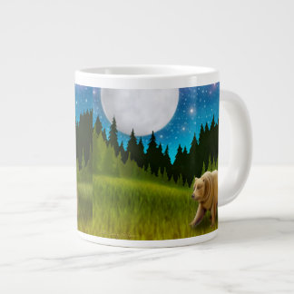 Moonlight Grizzly Bear Mug