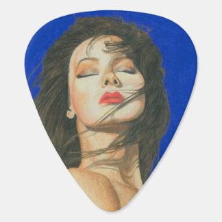 Moonlight Gypsy Fantasy Woman Guitar Pick