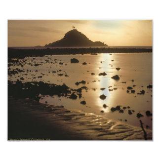 Moonlight Haneo'o Fishpond Maui Photo Print