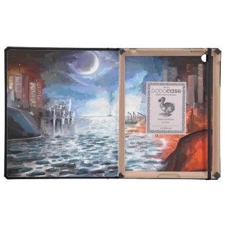 Moonlight Harbor Case For iPad