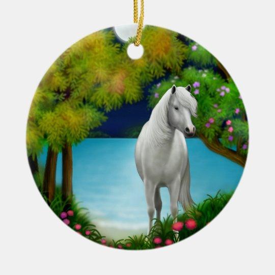 Moonlight Horse Ornament